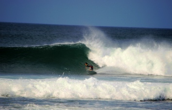 Surf guide in Playa Negra
